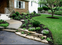 Picture of residential landscaping